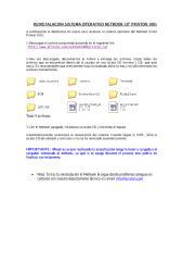REINSTALACIÓN SISTEMA OPERATIVO NETBOOK 1001.pdf