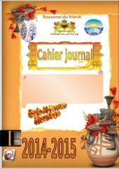 couvertur cahier du journal exemple 2.doc