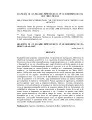 RELACIÓN  DE LOS AGENTES ATMOSFÉRICOS EN EL DESEMPEÑO DE UNA RED CELULAR GSM anais asslan.doc