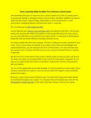 Development of leadership skills.pdf