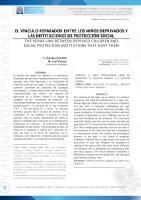EL VÍNCULO REPARADOR ENTRE LOS NIÑOS DEPRIVADOS Y LAS INSTITUCIONES DE PROTECCIÓN SOCIAL.pdf