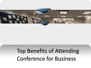 Top Benefits of Attending Conference for Business.pdf