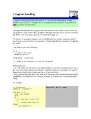 Exception handling.docx